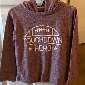 Toddler Boy's Long Sleeve Pullover.
